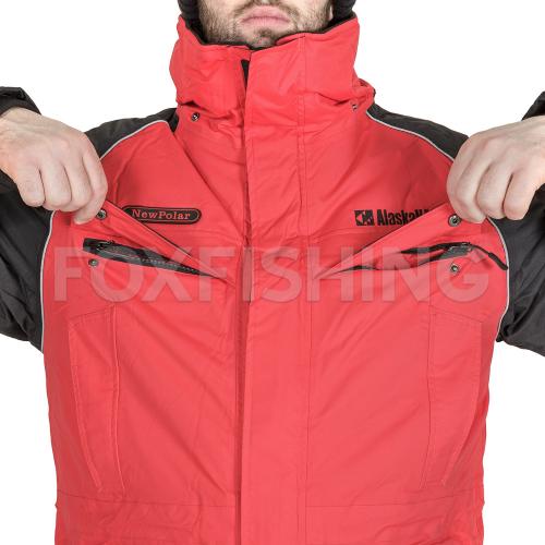 Костюм ALASKAN NEW POLAR красный/черный XL фото №4