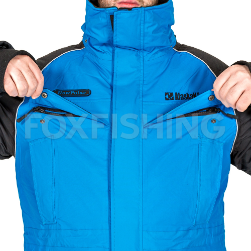 Костюм ALASKAN NEW POLAR синий/черный XL фото №7