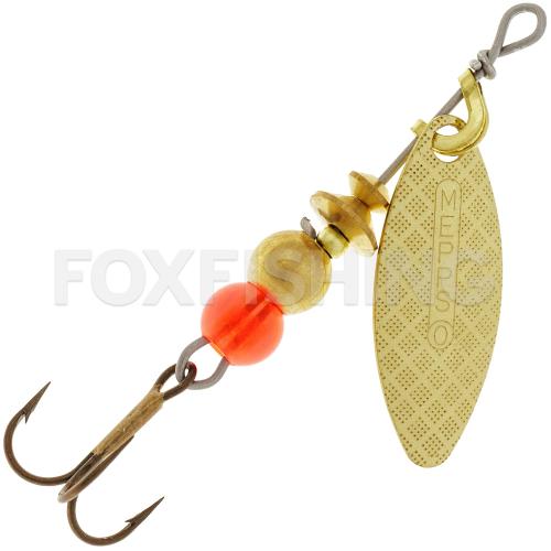 Вращающаяся блесна MEPPS AGLIA 00 G - Рыболовный магазин FoxFishing Независимо от