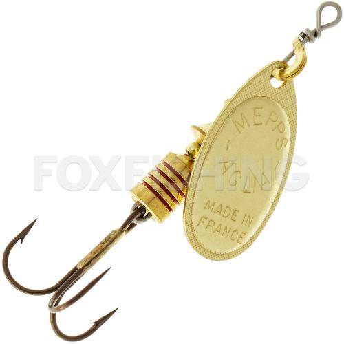 Вращающаяся блесна MEPPS AGLIA 00 G - Рыболовный магазин FoxFishing Угол вращения постоянно