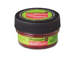 Насадка TRIGGER X мотыль искусственный Blood Worm Medium