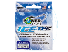 Зимний шнур POWER PRO ICE TEC BLUE 0.13 45m.