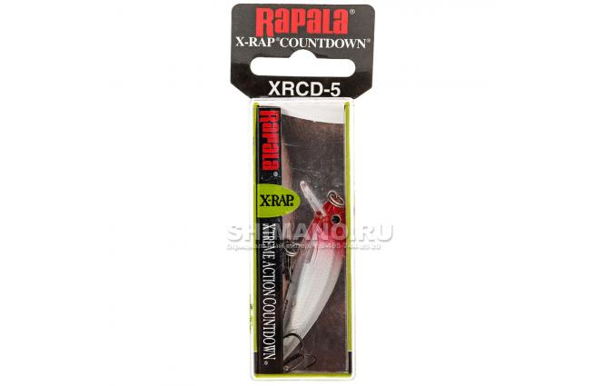 Воблер RAPALA X-RAP COUNTDOWN XRCD05-RH фото №2
